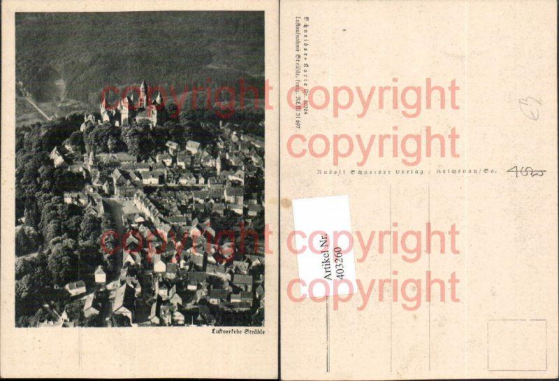 Fotokunst Luftverkehr Strähle Totale m. Burg pub Schneider Verlag 50364