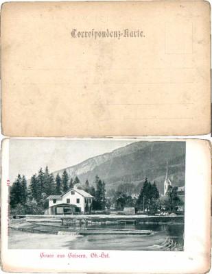 34275;Gruss aus Goisern Wehranlage