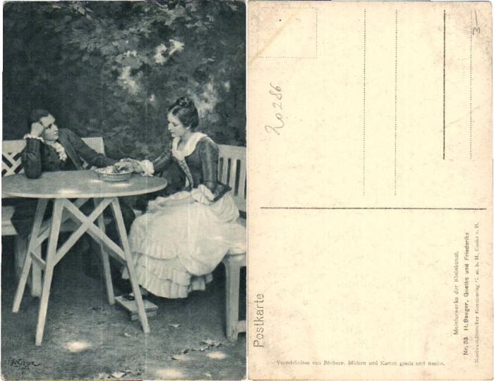 43755;Meisterwerke Kleinkunst H. Seeger Goethe Friederi