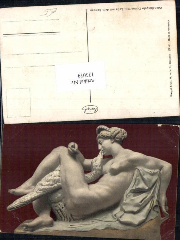Stengel & Co 29345 Michelangelo Buonarroti Leda mit Schwan