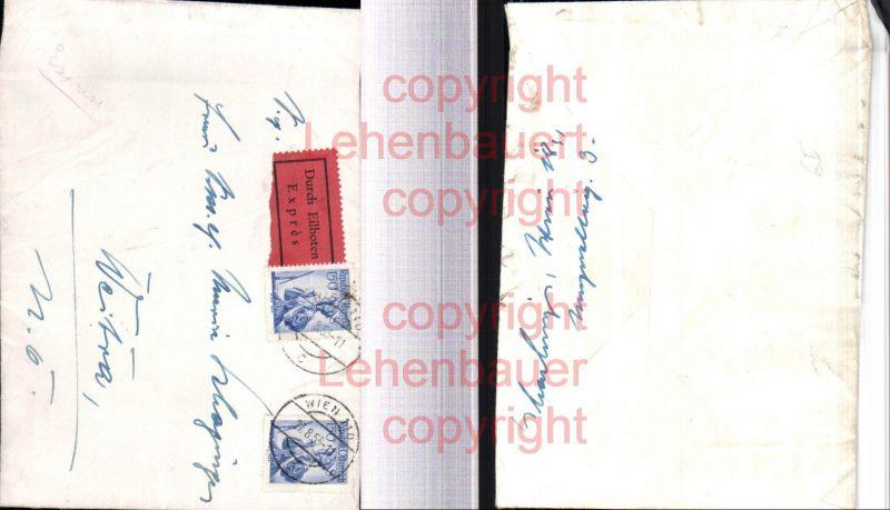 Brief Nach Wien Versenden : Brief durch eilbote express expres wien nach weitra ohne