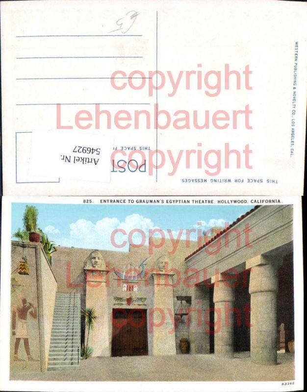California Hollywood Grauman Egyptian Theatre