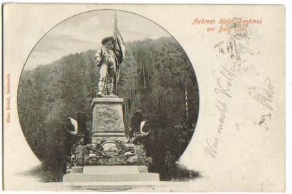 893;Andreas Hofer Denkmal in Innsbruck Berg Isel*1900