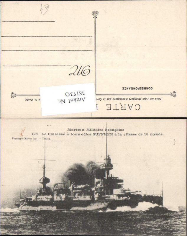 Schiff Kriegsschiff Suffren Kreuzer Marine Militaire Francaise Kriegsmari