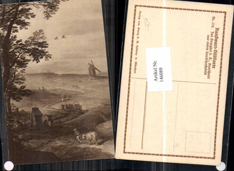 Kunstwart Postkarte 178 Jan Brueghel
