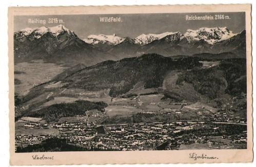 28428;Leoben Ortsansicht um 1937