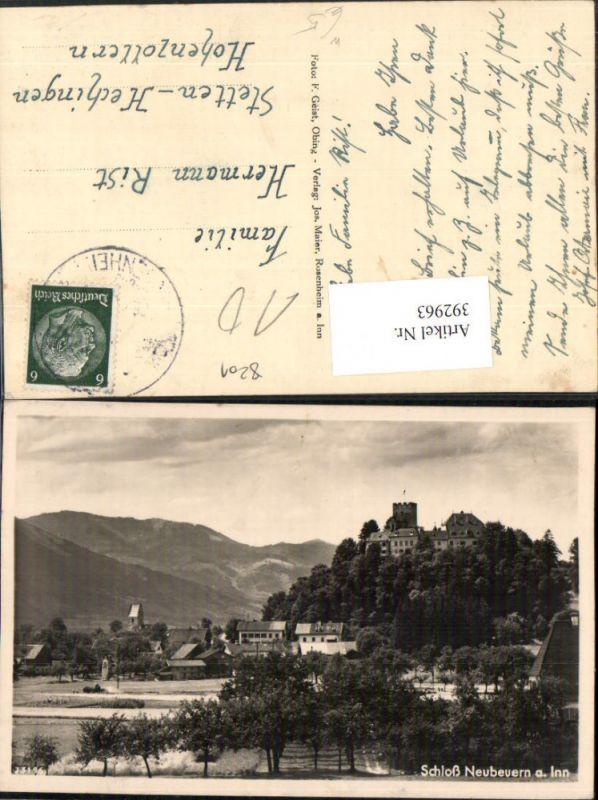 Schloss Neubeuren am Inn