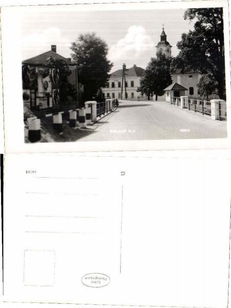 Erlauf Strassenpartie im Ort 1940