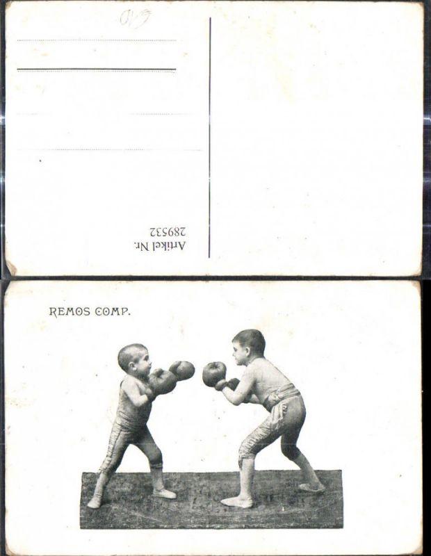 Sport Boxen Kinder Buben Jungen Remos Comp.