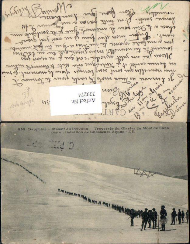 WW1 Gebirgsjäger Bataillon de Chasseurs Alpins Massif du Pelvoux Dauphine