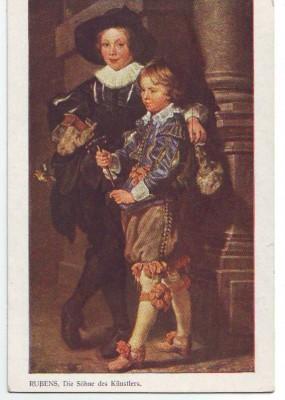 30475;Rubens Die Söhne des Künstlers
