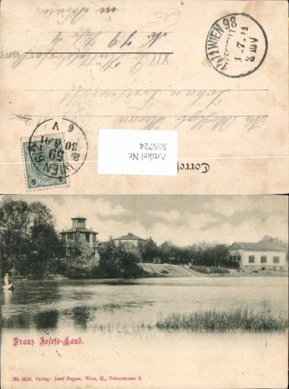 Wien Leopoldstadt Franz Josefs Land Donaustadt