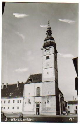 1395;St Pölten Domkirche *Strassenansicht*