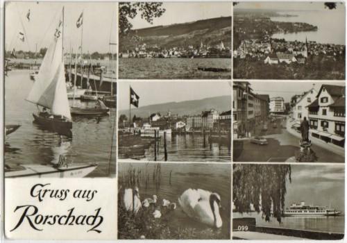 6380;Gruss aus Rorschach Mehrbild Bodensee