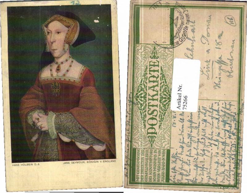 75266;Hans Holbein Jane Seymour