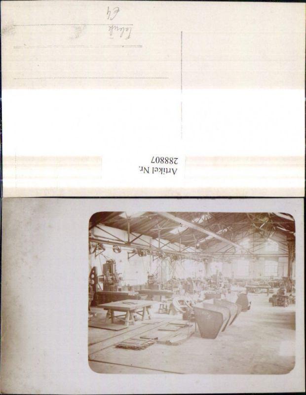 Foto Ak Handwerk Fabrik Maschinen