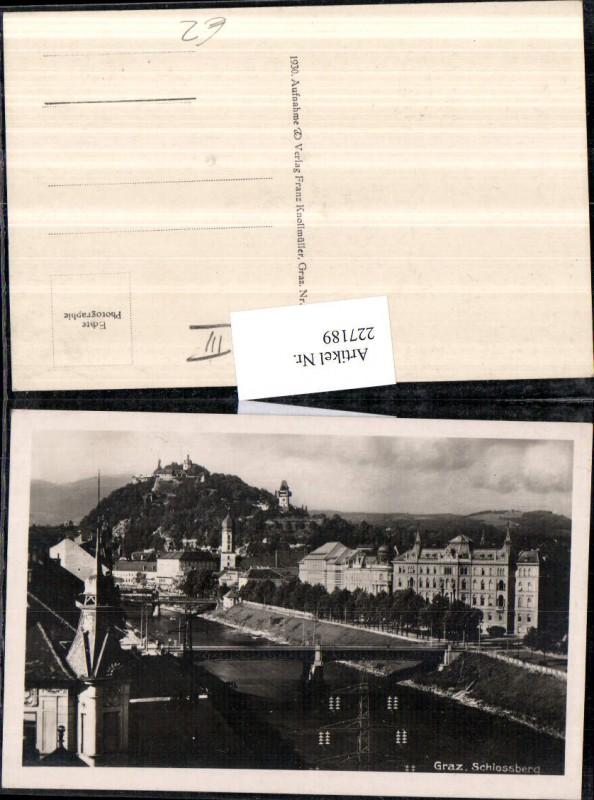 Graz Schlossberg Brücke