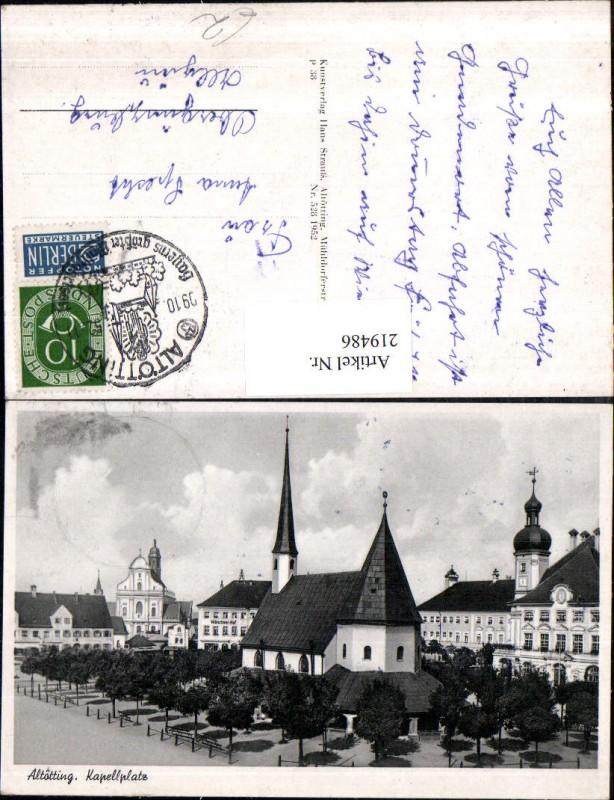 Altötting Kapellplatz Kapelle