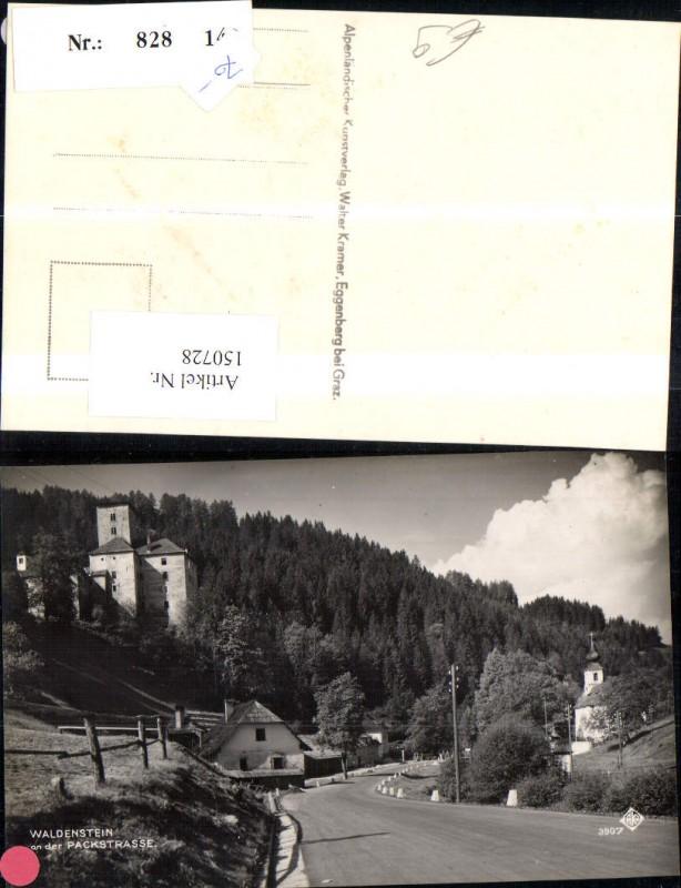 Waldenstein a. d. Packstrasse Strassenansicht