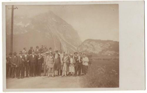 28416;FotoAK Pürgg im Ennstal Ausflugsgruppe 1915