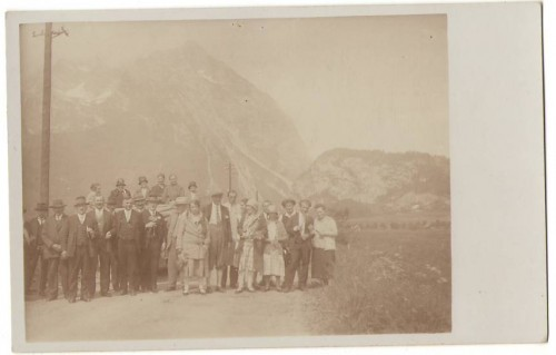 28417;FotoAK Pürgg im Ennstal Ausflugsgruppe 1915