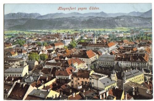 10230;Klagenfurt gegen Süden 1908