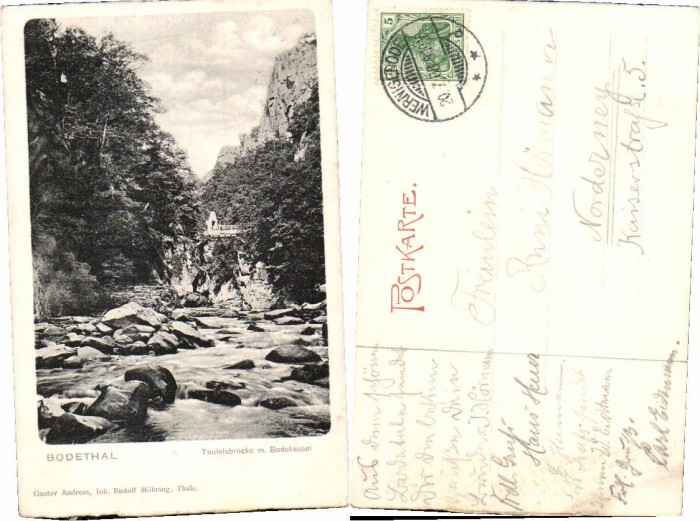 59713;Bodethal bei Thale am Harz Wernigerode