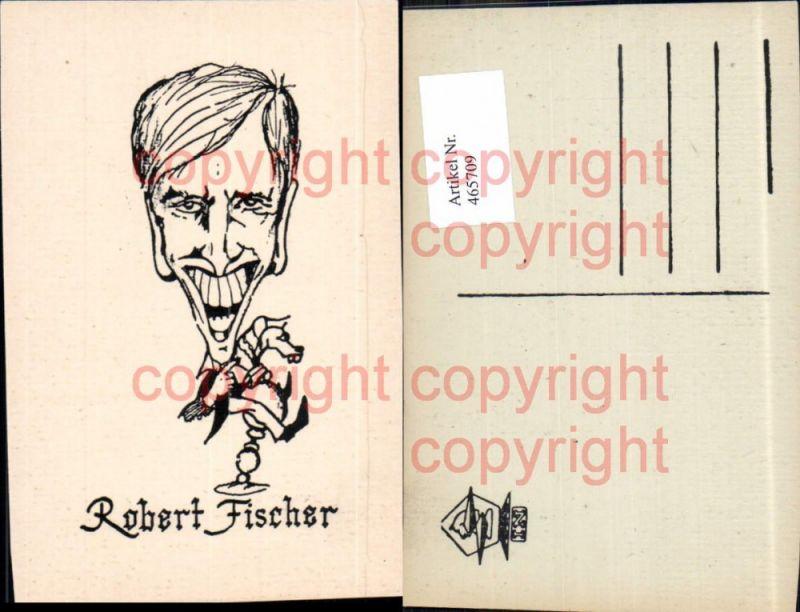 Robert Fischer Spieler Portrait Schach Chess Sport