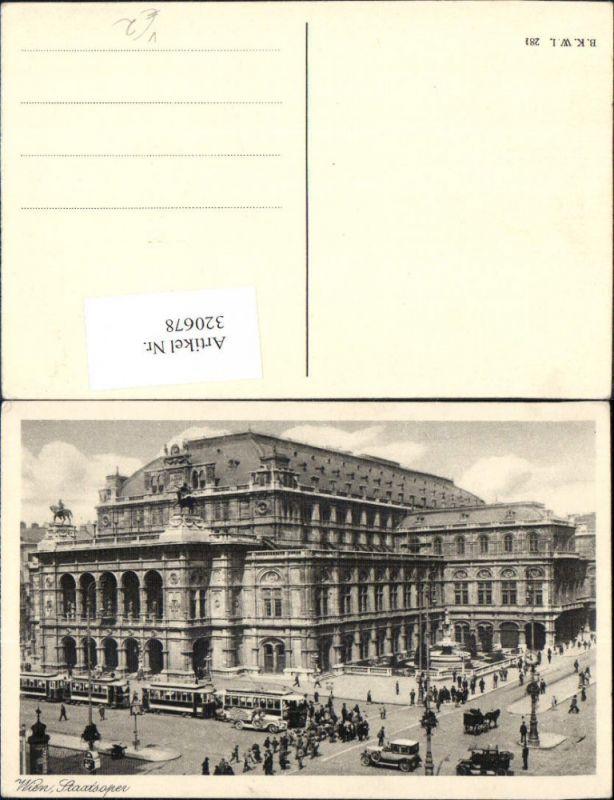 Wien Staatsoper Oper pub B.K.W.I. 281