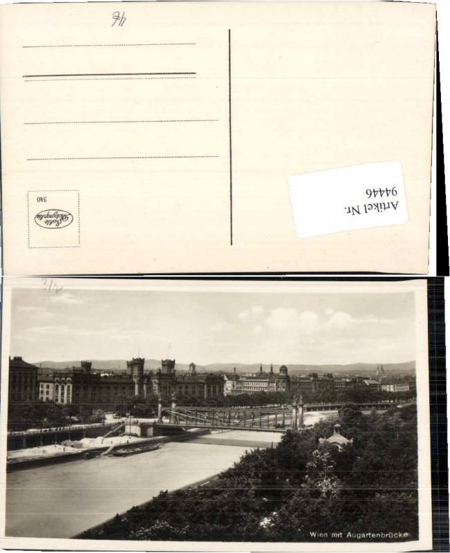 94446;Wien Augartenbrücke Donau Kai