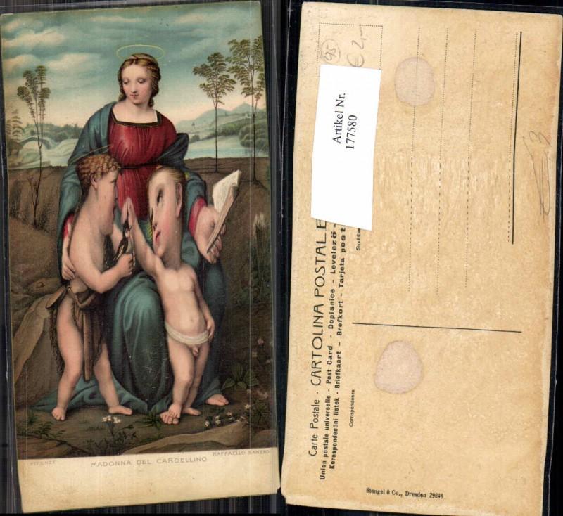 Künstler AK Stengel & Co. 29849 Madonna del Cardallino