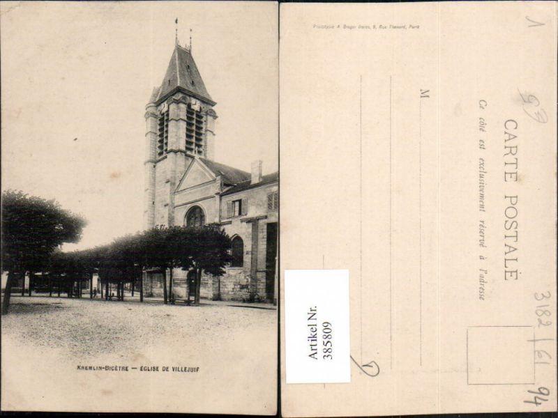 Ile-de-France Val-de-Marne Kremlin-Bicetre Eglise de Villejuif Kirche