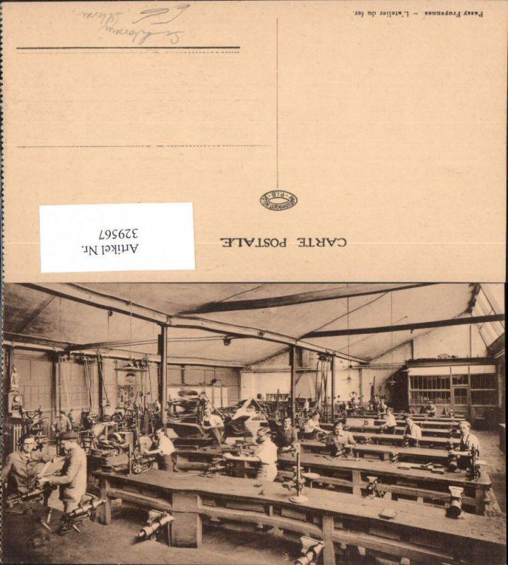 Sshlosserei Schlosser Handwerk Passay Froyennes L atelier du fer Werkhall