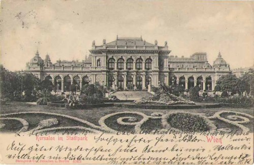 24134;Kursalon in Wien Stadtpark um 1915