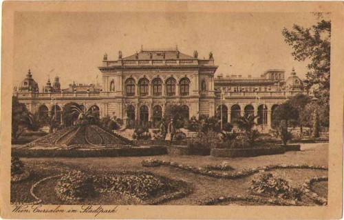 24135;Wien Kursalon im Stadtpark 1920