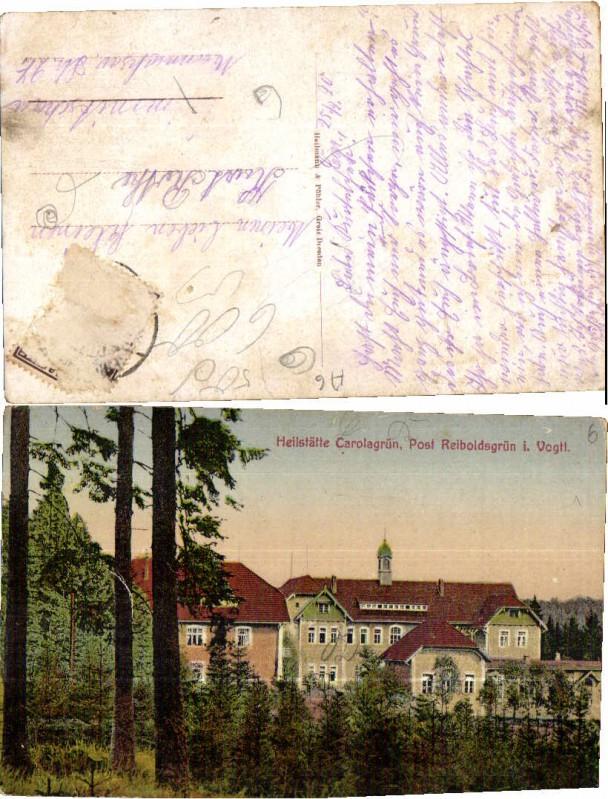 50609;Heilstätte Carolagrün b. Reiboldsgrün Vogtland 19