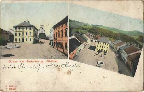 22638;Gruss aus Schildberg Mähren Stity Sumperk