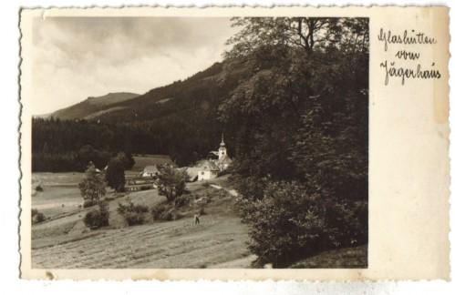 3394;Gasthaus Glashütten v. Jägerhaus Deutschlandsberg