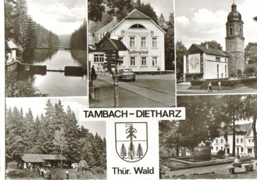 7679;Tambach Dietharz Thür. Wald Mehrbild