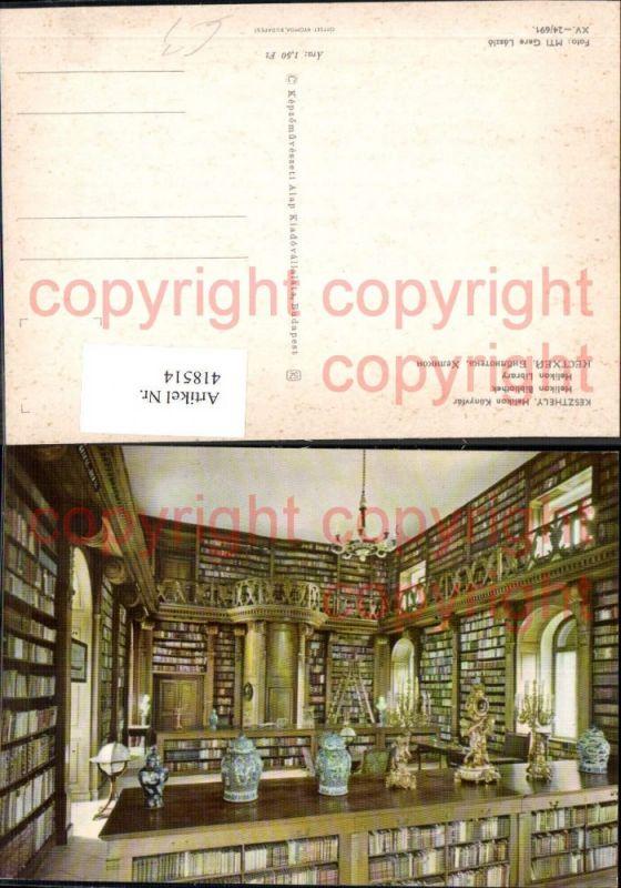 Keszthely Helikon Könyvtar Helikon Library Bibliothek