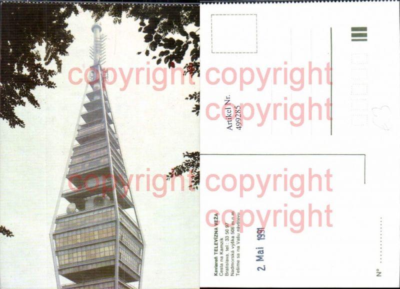 Turm Kaviaren Televizna Veza Bratislava 1991
