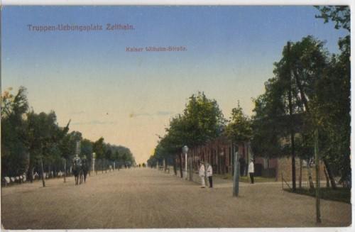 7707;Truppen Übungsplatz Zeithain Kaiser W. Strasse