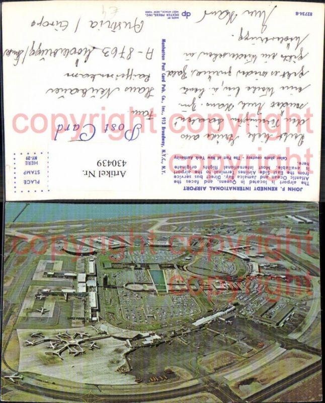 Luftbild John F. Kennedy International Airport Flughafen Luftfahrt