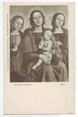 30228;F.A. Ackermann 168 Perugino Madonna