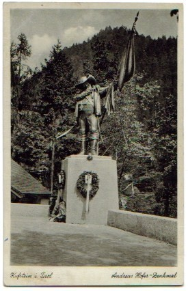 Kufstein Andreas Hofer Denkmal 1941