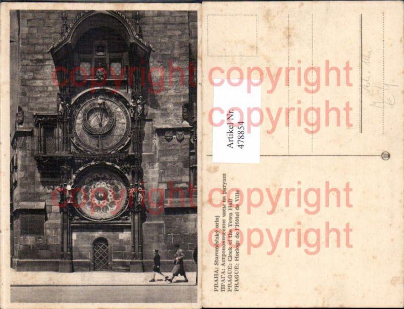 Astronomische Uhr Praha Prag Clock of the Town Hall
