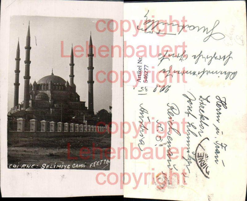 tolle Foto-AK Turkey Edirne Mosque Selimiye-Moschee Adrianopel