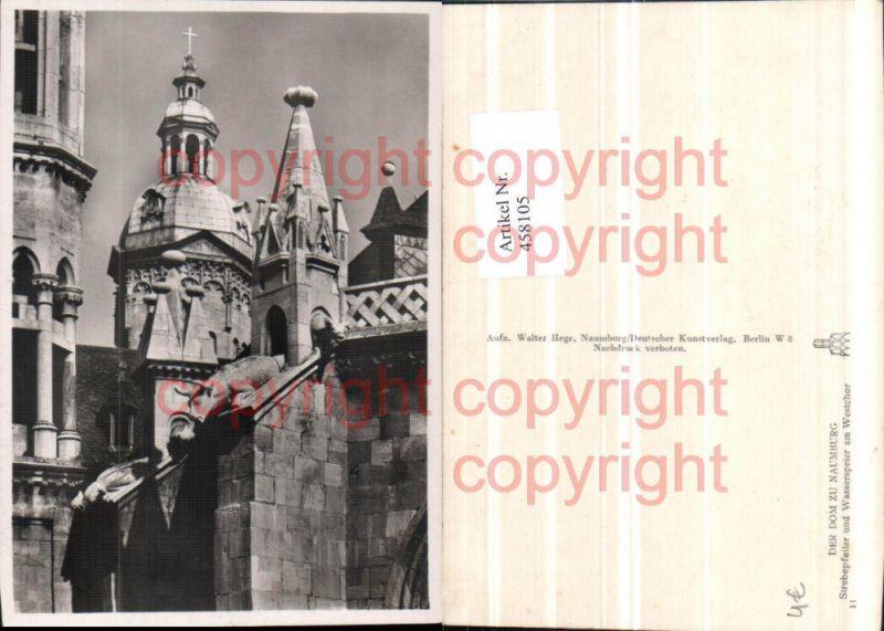 Naumburg Dom Kirche Strebepfeiler Wasserspeier