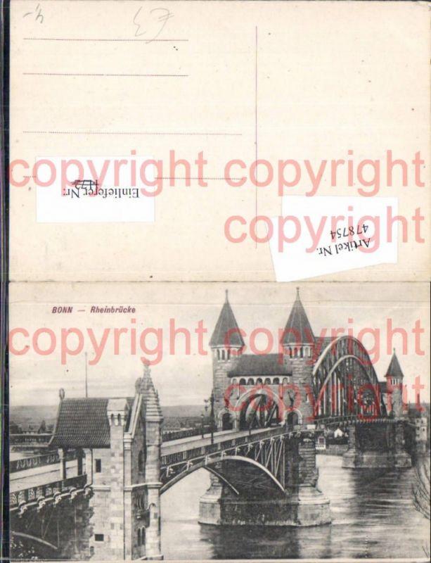 Brücke Bonn Rheinbrücke