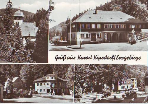 13007;Gruss aus Kipsdorf Mehrbild Bahnhof